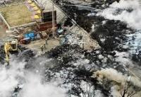 ۴۲ مجروح در حادثه انفجار ساختمان در شمال ژاپن
