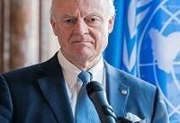 دیمیستورا با نمایندگان ایران، روسیه و ترکیه در ژنو دیدار می کند