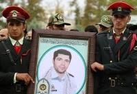 پیکر شهید نورخدا موسوی تشییع و به خاک سپرده شد