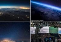 شکار تصاویری زیبا از سطح زمین توسط یک خلبان