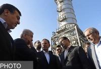 بهرهبرداری از فاز نخست نیروگاه سیکل ترکیبی هرمز با حضور معاون اول رئیس جمهور