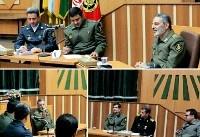 نشست هم اندیشی فرمانده کل ارتش با تعدادی از دانشجویان دافوس ارتش برگزار شد
