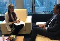 رایزنی جابریانصاری و هلگا اشمید در مورد آخرین تحولات منطقه