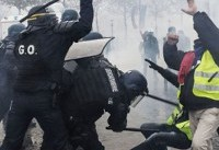 ستاد حقوق بشر قوه قضاییه «سرکوب» معترضان فرانسوی را محکوم کرد