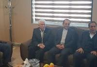 جبران زیان ۱۶۵ زلزلهزده گیلانغرب و قصر شیرین با حضور مدیرعامل بیمه ایران