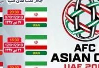 اطلاعیه فدراسیون فوتبال درباره فروش بلیت جام ملتهای آسیا