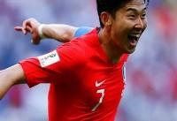 سون هیونگ مین در مرحله گروهی جام ملتها بازی نخواهد کرد