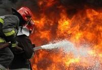 آتشسوزی در شهرک صنعتی خلیجفارس مهار شد