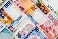 قیمت روز ارزهای دولتی/ نرخ ۲۲ ارز کاهشی شد