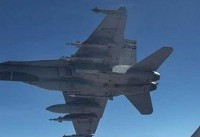 بمباران مواضع شبهنظامیان کُرد توسط ائتلاف آمریکا در شرق سوریه