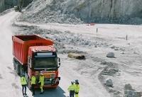 کامیون های خودران ولوو در معدن سنگ آهک (+عکس)