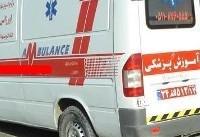 واژگونی سواری هیوندا در مشهد