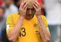 بدبیاری دیگر برای استرالیا قبل از جام ملتهای آسیا