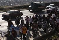 درخواست کاروان مهاجران هندوراسی در مرز آمریکا: ۵۰ هزار دلار بدهید تا به خانهمان برگردیم