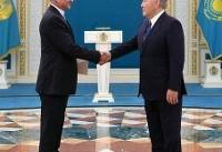 تقدیم استوارنامه سفیر جدید ایران به رئیسجمهور قزاقستان