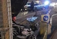 تصادف مرگبار در اتوبان تهران - کرج +تصاویر