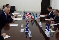 دیدار سفیر ایران با وزیر امور خارجه گرجستان