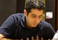 احسان قائم مقامی تنها شطرنجباز پیروز ایران در دور چهارم مسابقات