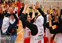 ذوب آهن اصفهان قهرمان نیم فصل اول لیگ برتر والیبال بانوان شد