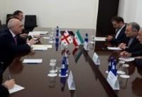 دیدار سفیر ایران با وزیر خارجه گرجستان