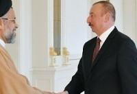 وزیر اطلاعات با رئیس جمهوری آذربایجان دیدار کرد