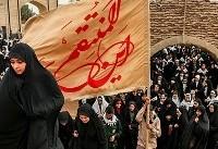 اعزام کاروان دانش آموزان شیراز به مناطق عملیات جنوب+عکس