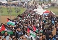 لحظه به لحظه با ۳۸مین راهپیمایی بازگشت/ دعوت به قیام در کرانه باختری