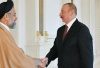 دیدار وزیر اطلاعات با رئیسجمهوری آذربایجان در باکو