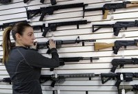 Gun deaths in US rise to highest level in 20 years, data shows