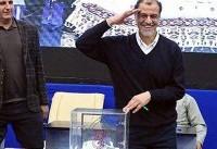 محمود خسروی وفا رئیس کمیته ملی پارالمپیک باقی ماند