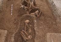 کشف یک قبر از عصر آهن در یورکشایر انگلیس+عکس