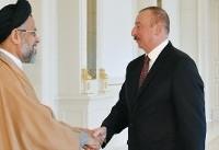دیدار وزیر اطلاعات با رئیس جمهوری آذربایجان (عکس)