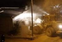 هجوم تفنگداران صهیونیست به منزل یک فلسطینی در رام الله