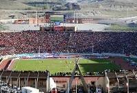 حضور۶۵هزار نفری هواداران در ورزشگاه/ افشین قطبی در تبریز تشویق شد