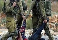 درگیری میان جوانان فلسطینی و نظامیان اشغالگر در مناطق مختلف کرانه باختری