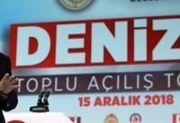 اردوغان: عملیات نظامی ترکیه در شمال عراق ادامه می یابد