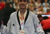 آرمین هادیپور با شکست قهرمان جهان به مدال برنز رسید