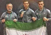 مدال طلای موی تای قهرمانی آسیا بر گردن کاوان آزادی