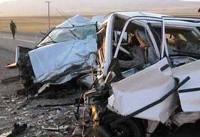 کشته و ۵ مجروح نتیجه تصادف مرگبار در فارس