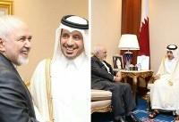 رایزنی ظریف با نخستوزیر قطر در مورد مذاکرات صلح یمن