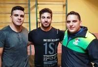 تمرین وزنهبردار کلمبیایی در کنار تیم ملی ایران