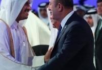تحریمهای تحت رهبری سعودی علیه قطر قابل پذیرش نیست