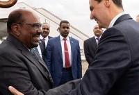 اولین سفر رسمی یک رئیس کشور به سوریه بعد از ۸ سال (عکس)