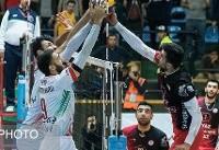پیروزی تهرانیها در هفته سیزدهم لیگبرتر والیبال