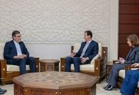 رایزنی دستیار ارشد ظریف با بشار اسد