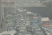افزایش غلظت آلاینده&#۸۲۰۴;ها در هوای تهران