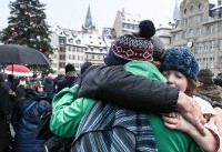 Strasbourg attack victims honoured