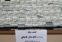 کشف ۵۲۰ هزار دلار ارز قاچاق در مرز مریوان