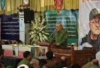 سردار منصوری مظهر پوشش لباس عزت بر تن ملت ایران بود
