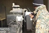 حمله فرضی به سد دامغان + تصاویر